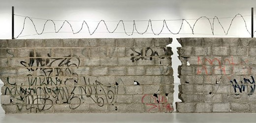 Muro Ciudad Juárez, 2010./Teresa Margolles